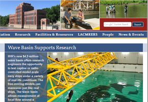 Thumbnail of IIHR website