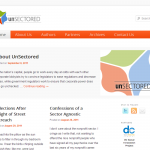 A thumbnail of the UnSectored website