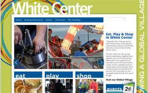 Visit White Center website screenshot