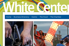 Visit White Center website screenshot thumbnail