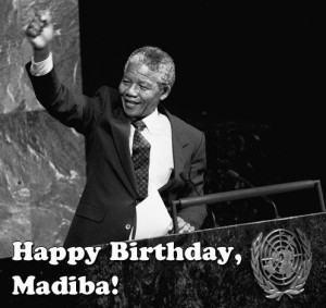 Nelson Mandela at the U.N.