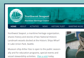 Thumbnail of NWSeaport.org banner.