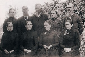 A group of people in the 19th Century