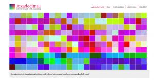 Screenshot of Lexadecimal.com