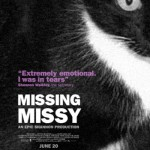 """Missing Missy"" lost cat movie poster."