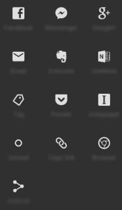 Social Icons with Blurred-out Labels