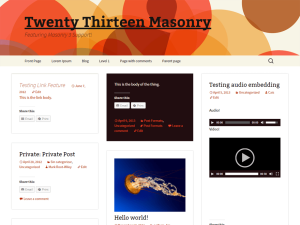 Blogsonry WordPress Theme Screenshot