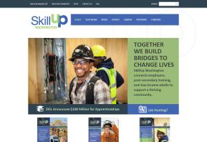 Skillupwa.org home page