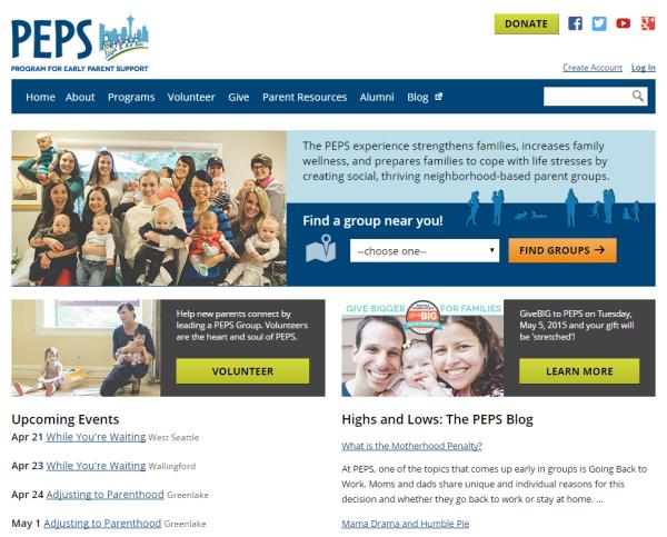 PEPS Home Page
