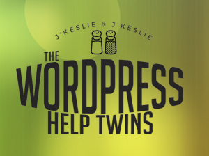 WordPress Help Twins