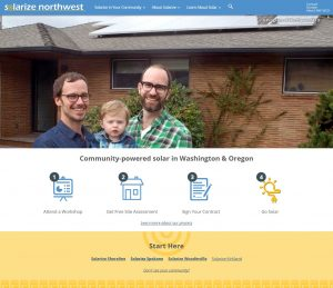 The New Solarize Northwest Home Page