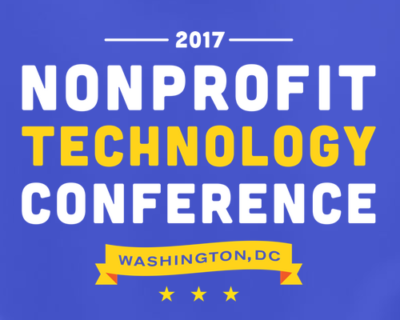 2017 Nonprofit Technology Conference Washington DC