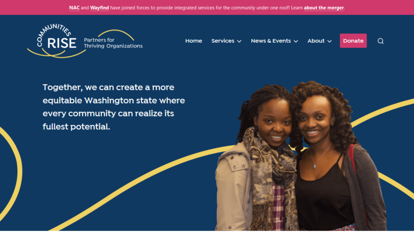 Communities Rise Homepage