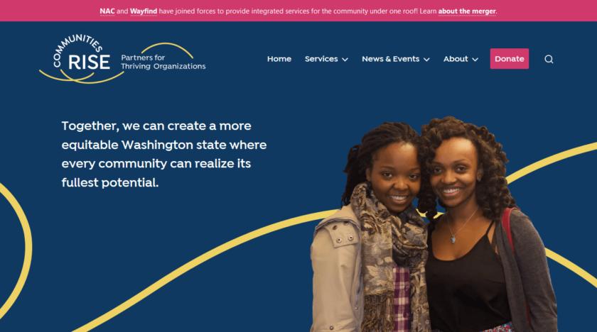 Communities Rise Homepage
