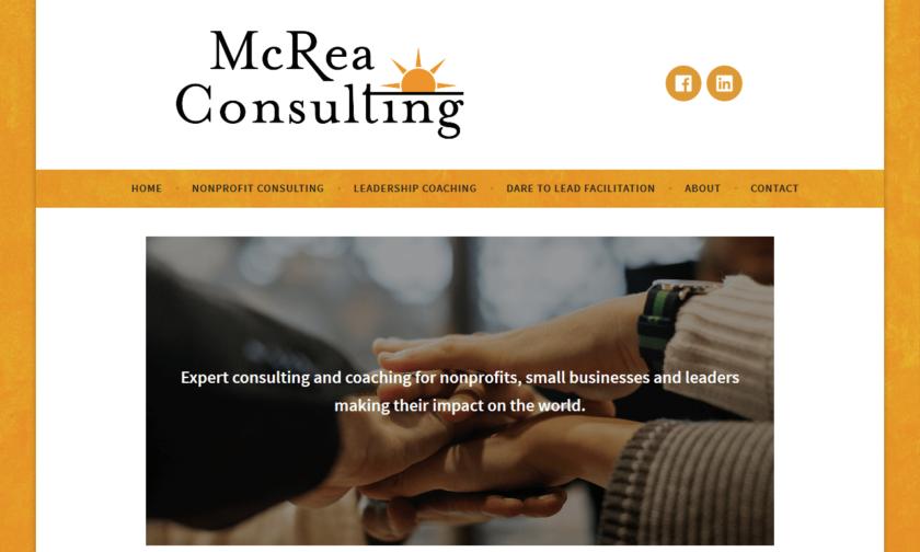 McRea Consulting Homepage