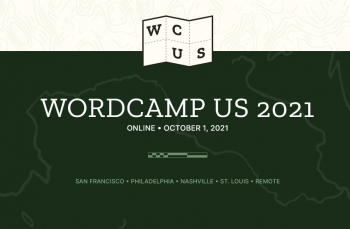 WordCamp US 2021 Home Page Banner